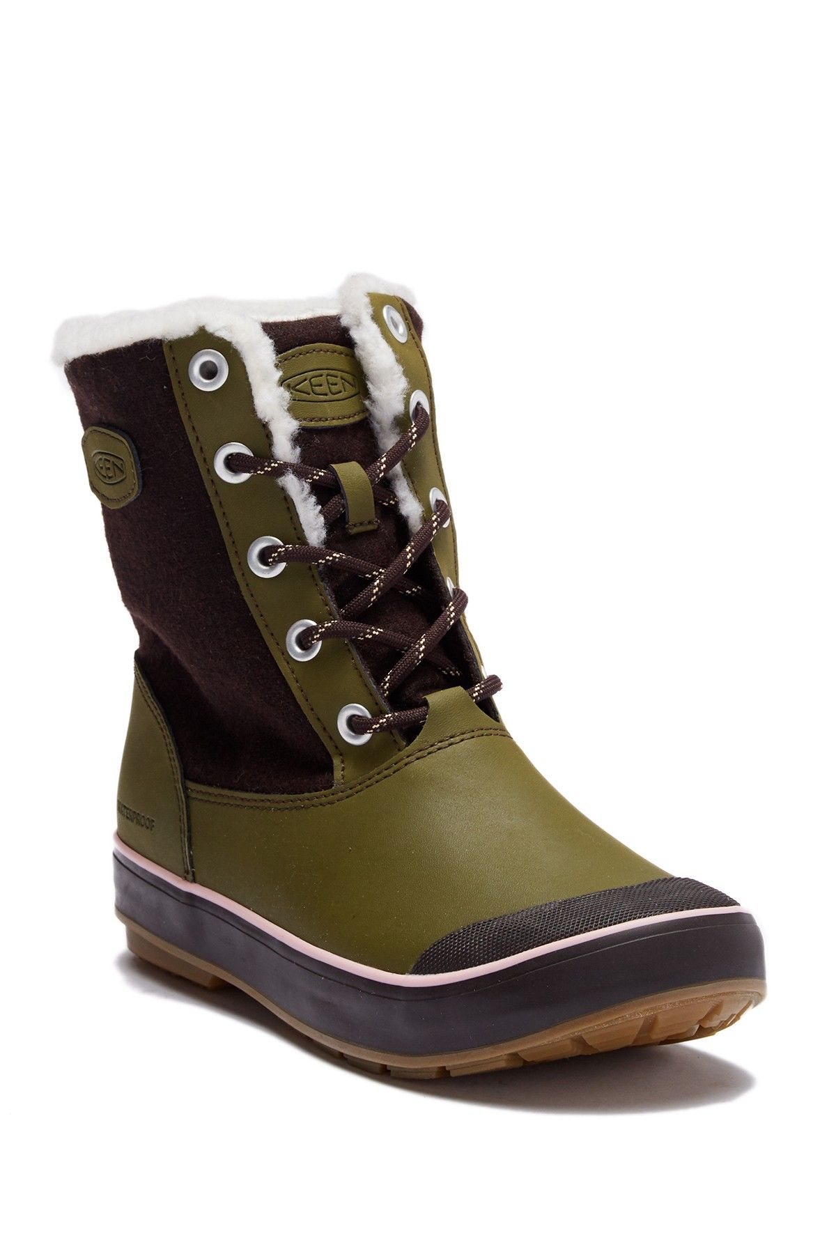 dd026aee116 Keen - Elsa Wool Lined Waterproof Boot is now 42% off. Free Shipping on orders  over  100.