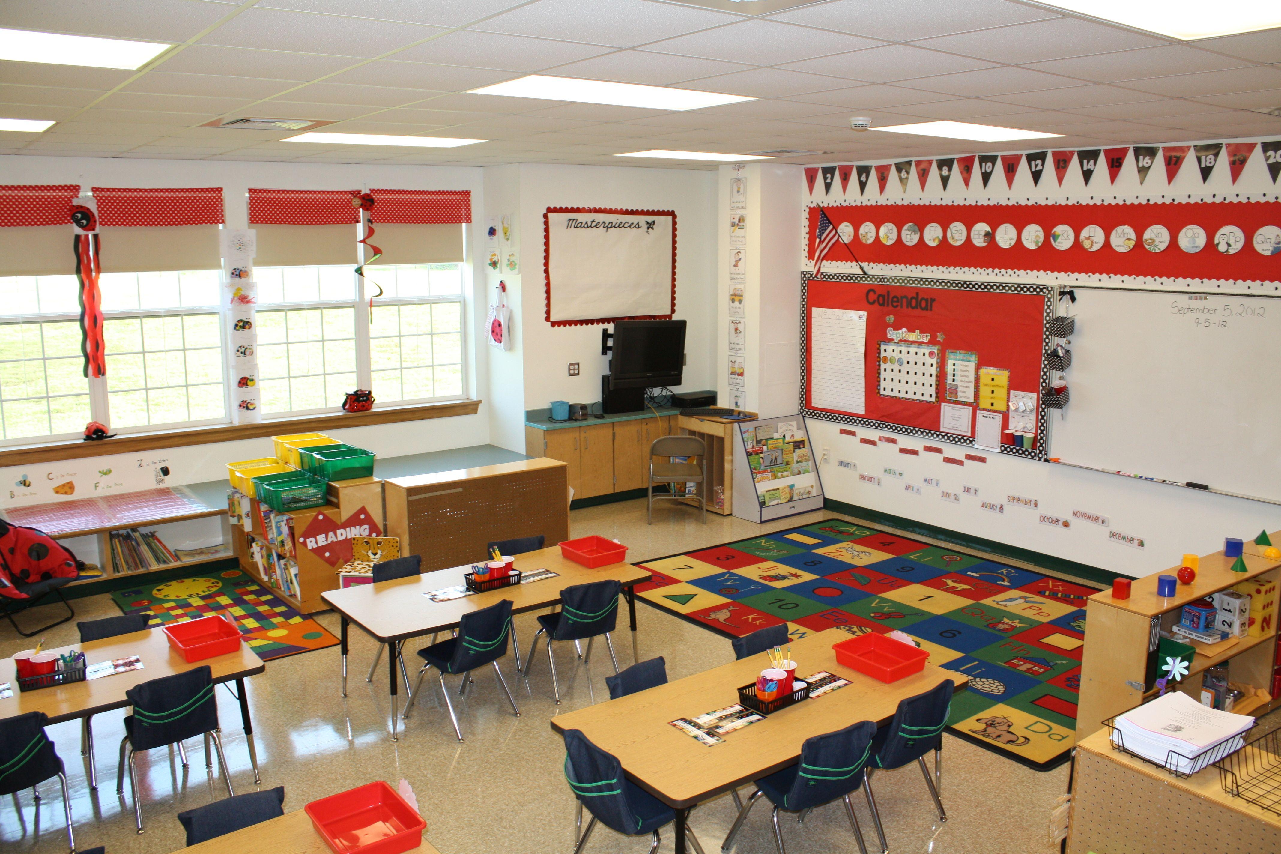 Kindergarten Classroom: Kindergarten Classroom