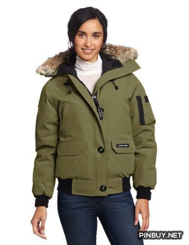 Canada Goose Women's Chilliwack Bomber, Military Green, Small Canada Goose - Army Girl