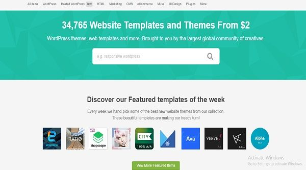 Php Website Templates Word`s Leading Best Website Templates & Themes With Hosting Plans
