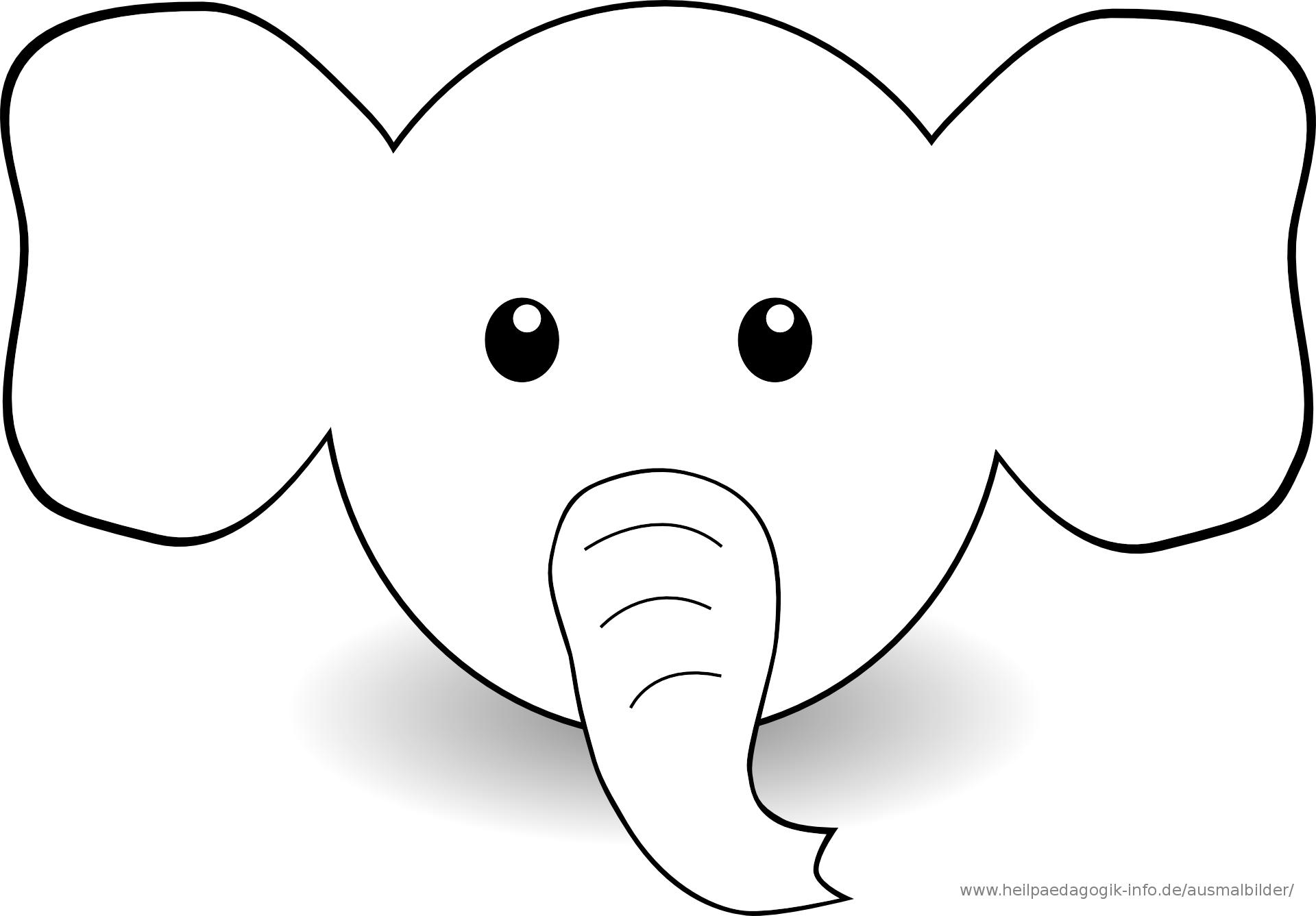 Malvorlage Kostenlos Elefant Und Junge Malvorlagencr