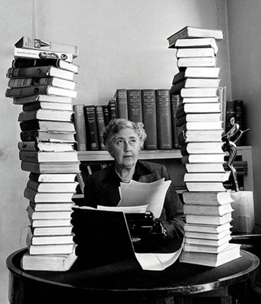 Image result for best-selling author Agatha christie after shakespeare and bible