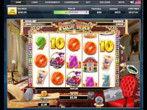 FREE Foxin Wins FACEBOOK Casino Game Coins