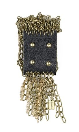 Chain Fringe Cuff.  You have to see it on to appreciate it's beauty.  Want.