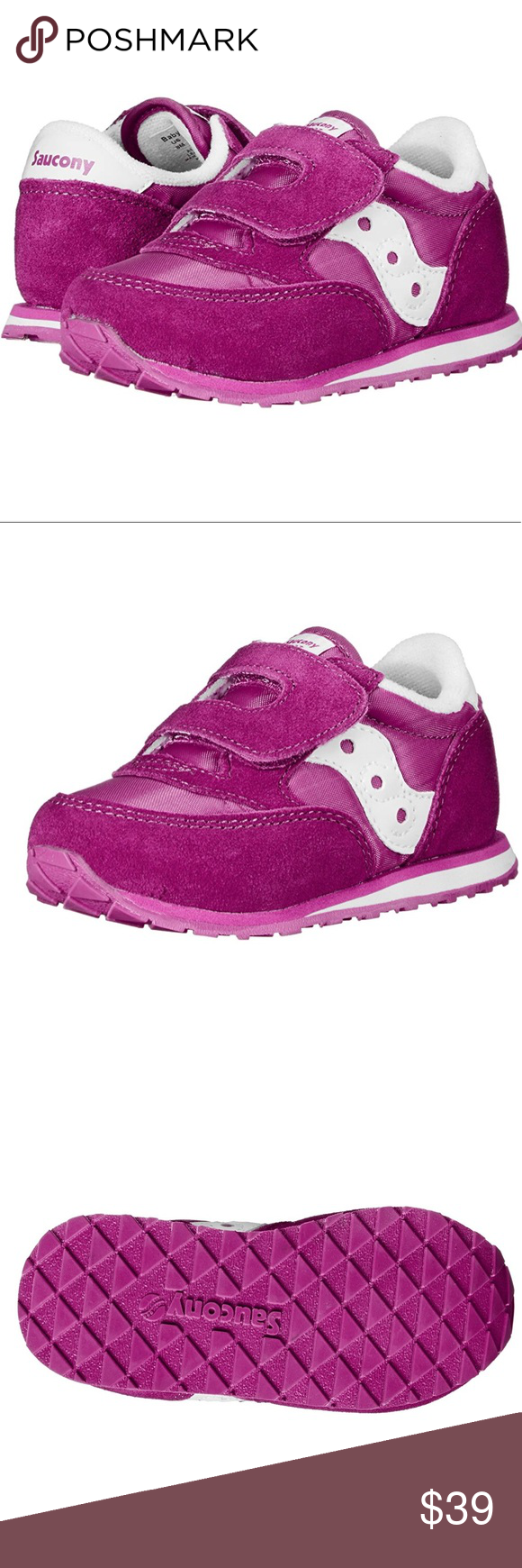 Saucony Toddler Girls Velcro Closure Sneakers The Saucony