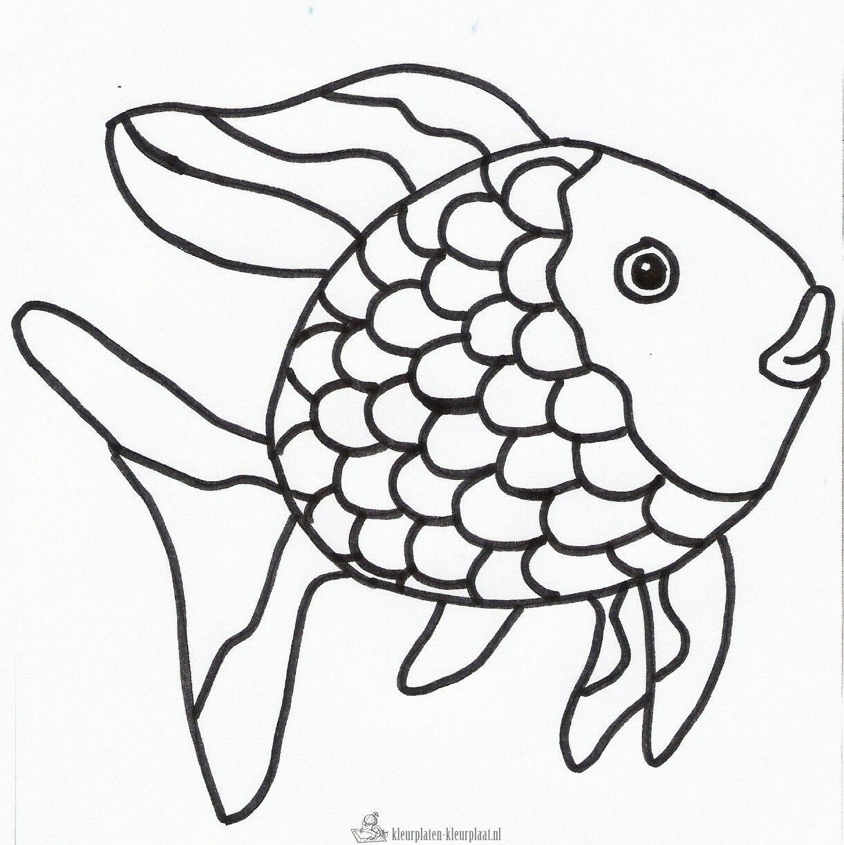 Pin By Maria Jesus Bermudez Villalobo On Mewarnai Animal Coloring Pages Fish Coloring Page Fish Drawings