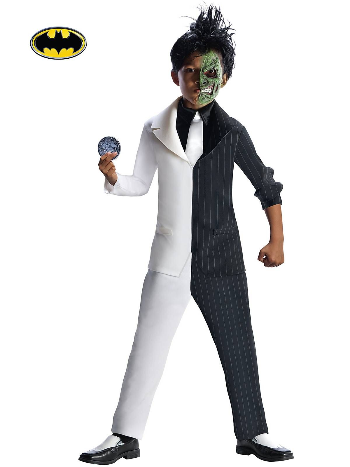 Stand out with this this Gothamu0027s Super Villain Two-Face costume.  sc 1 st  Pinterest & Boyu0027s DC Comics Batmanu0027s Super Villain Two-Face Costume | Costumes ...