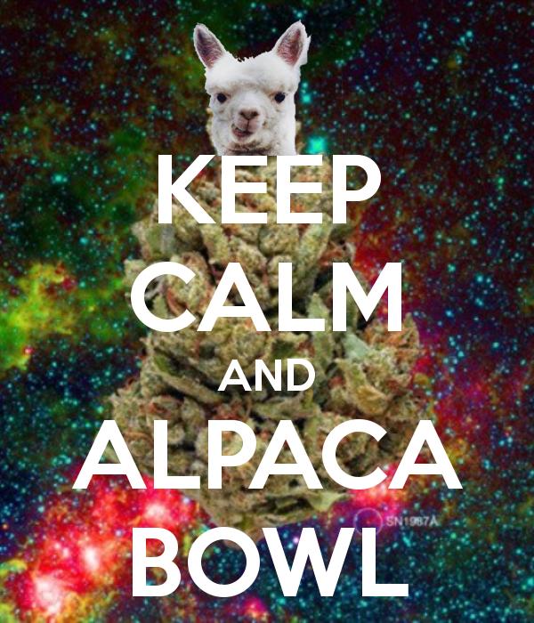Keep Calm And Alpaca Bowl