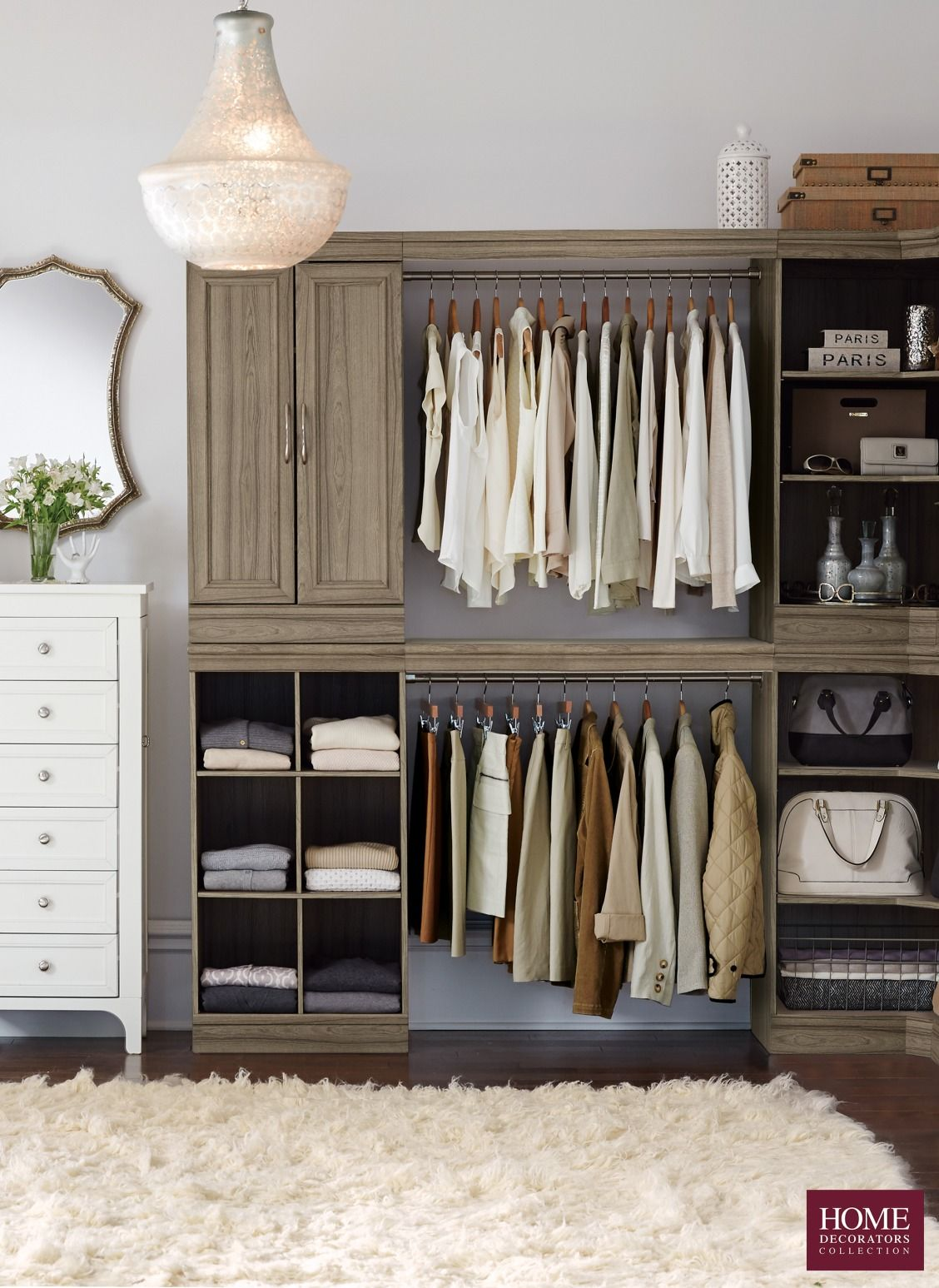 home decorators collection order status get your closet in order for the new year with a modular 12858
