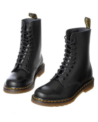 Dr. Martens Boots  10 Hole   For Women   Black   Pinterest   Boots ... 88af844e4080