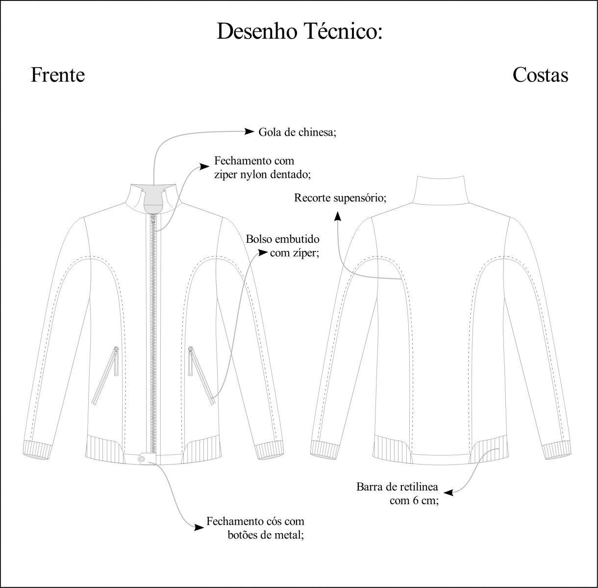 jaqueta bomber molde - Pesquisa Google