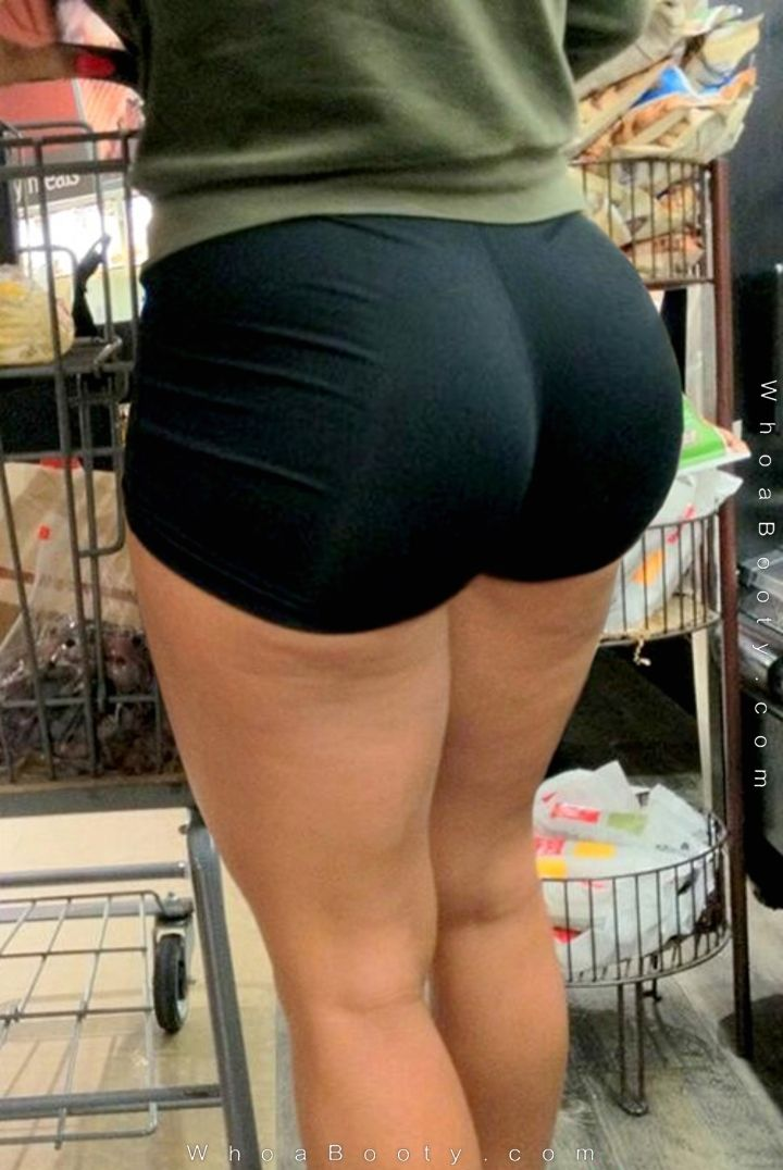 Big sexy ass in spandex