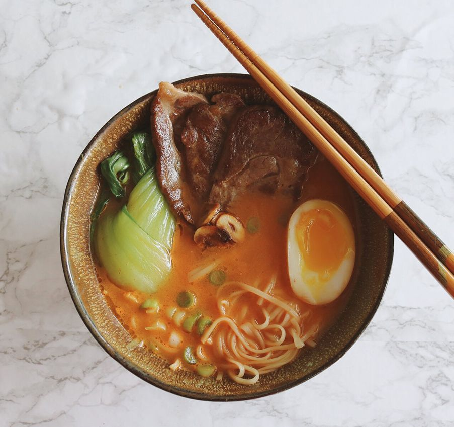Simple Spicy Beef Ramen Bowl Recipe How To Cook Beef Spicy Beef Recipes