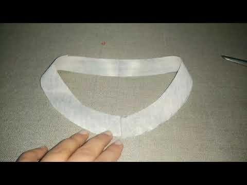 ffe1001d059b kurti collar neck cutting Simple & Easy Method - Cutting & Stitching well  explained Hindi Tutorial - YouTube