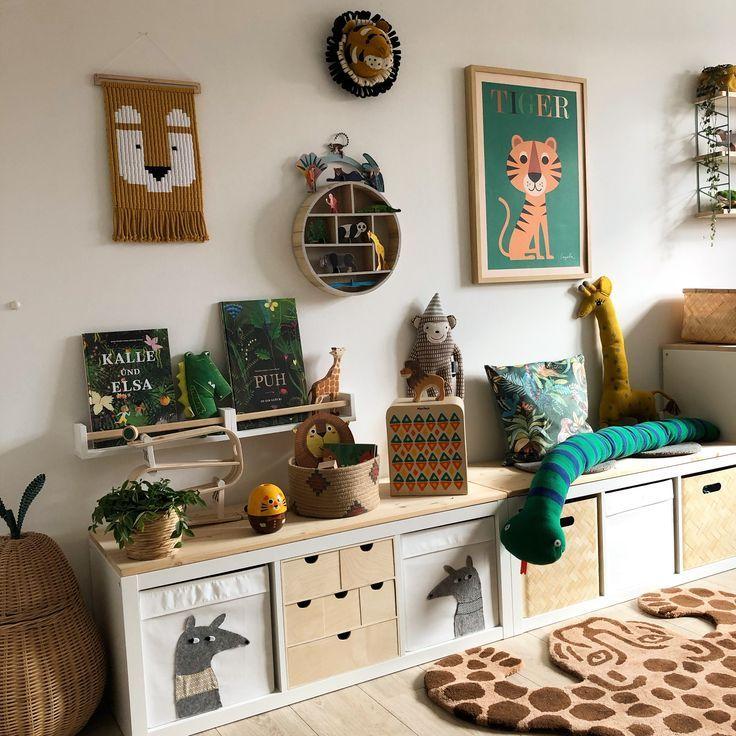 Kinderzimmer Ikeahack - Kinderzimmer - #Ikeahack #Kinderzimmer #toddlerrooms