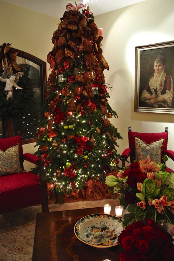 Spanish Colonial Opulent Christmas By Leanne Michael Luxe