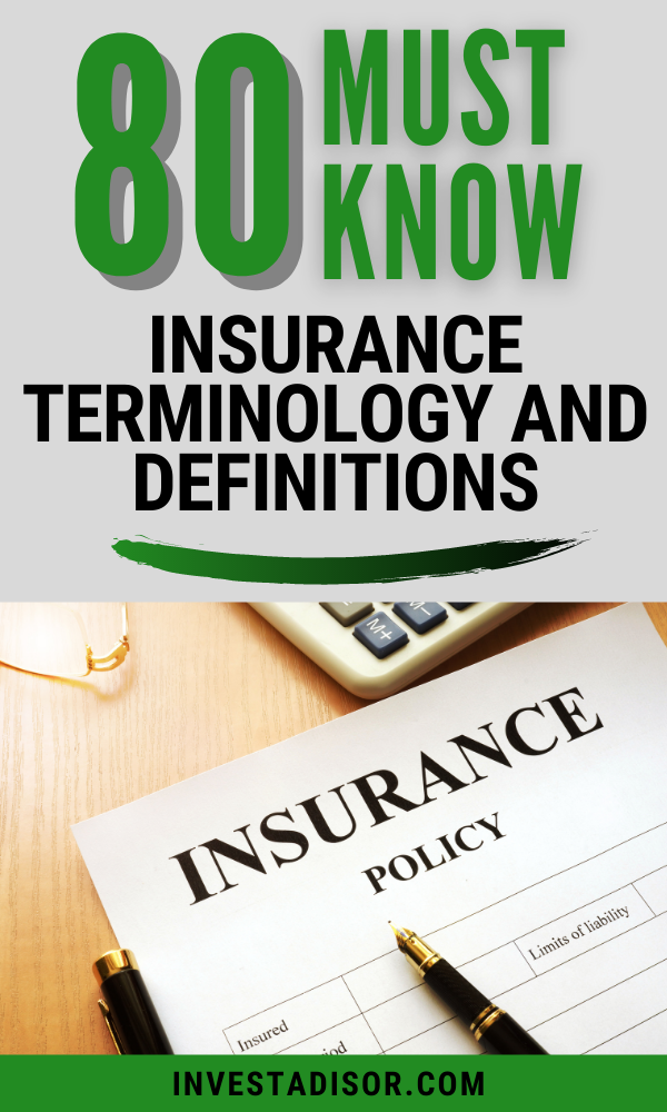 Insurance 101 Understanding All Insurance Terms and