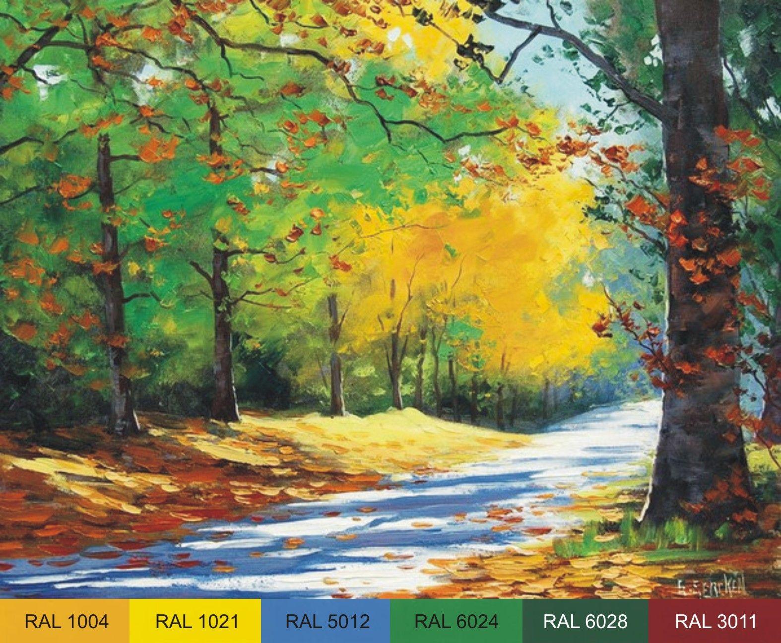 Peinture - Paysage - artiste australien Graeme Gerken (Graham GERCKEN).