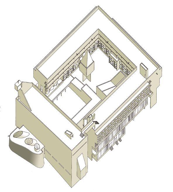 sainte marie de la tourette near lyon france 1956 60 by le corbusier architectural. Black Bedroom Furniture Sets. Home Design Ideas