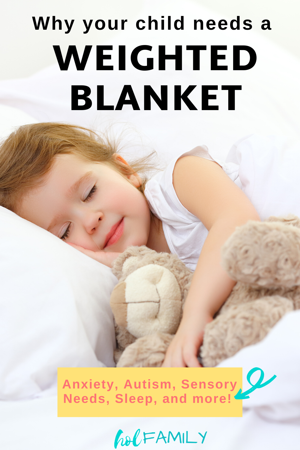 5 Weighted Blanket Benefits That Will Make You Wish You Had One Hol Family In 2020 Autism In Adults Autism Parenting Weighted Blanket