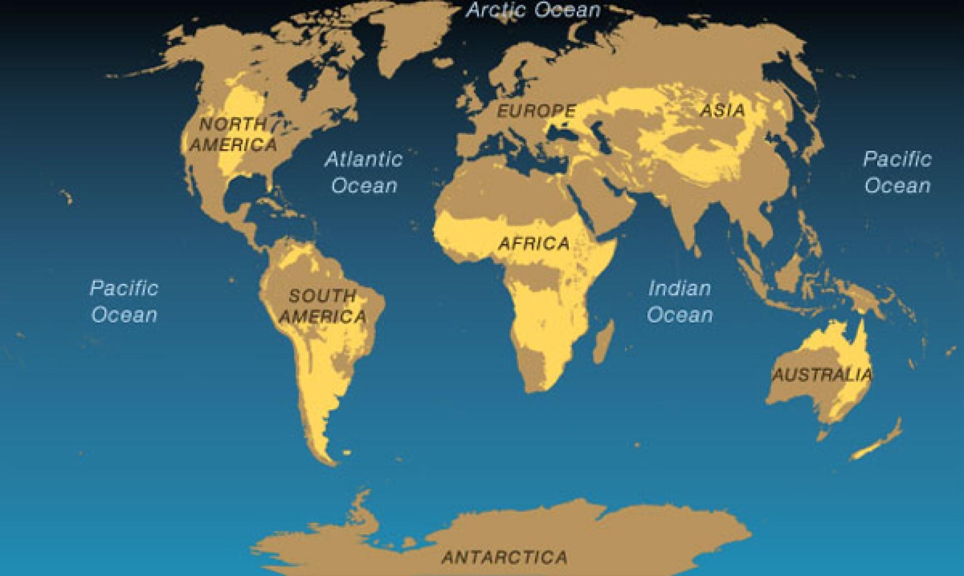 Grasslands Map Rainforest Map Desert Map Deserts Of The World