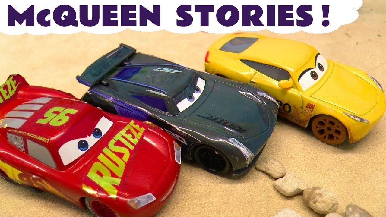 Cars McQueen Racing Toy Stories with Cruz Ramirez Joker