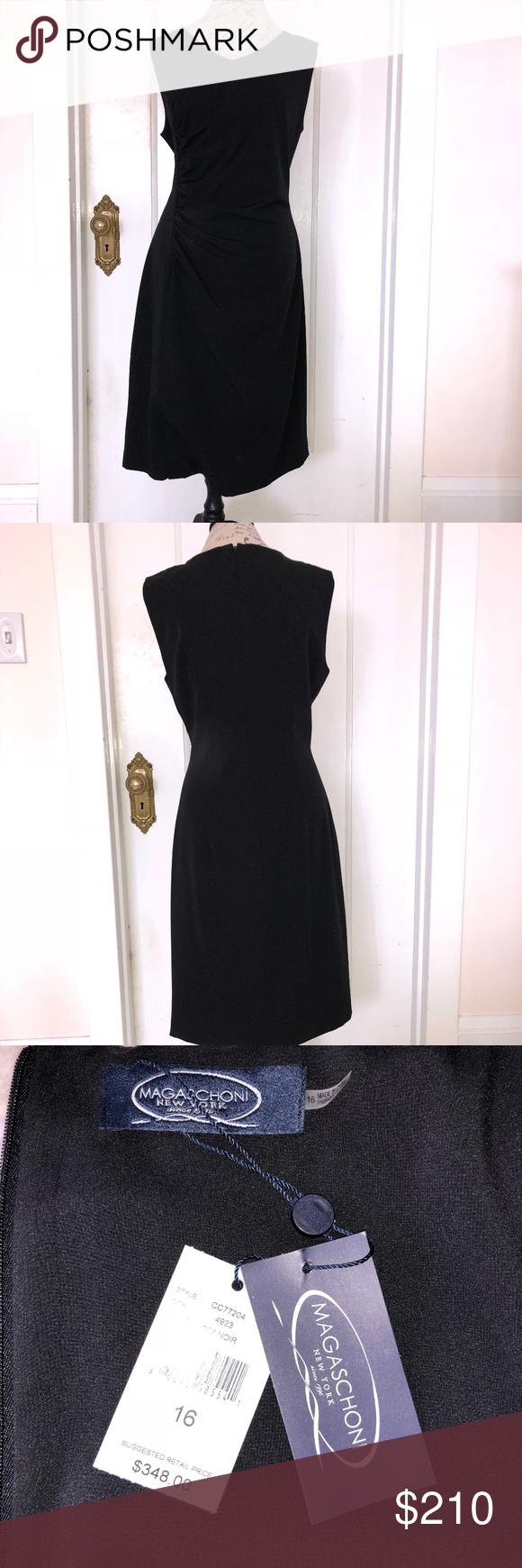 Magasconi Black Dress Size 16 Size 16 Dresses Clothes Design Dresses [ 1740 x 580 Pixel ]