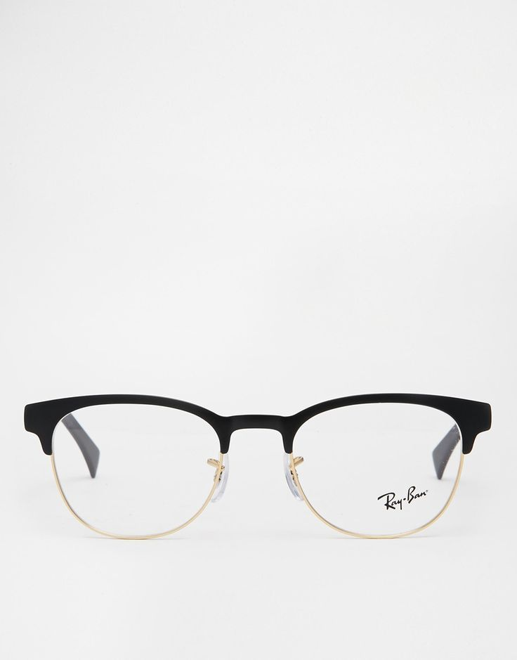 Image 2 of Ray-Ban Clubmaster Glasses 0RX6317   Glasses   Pinterest ... c07ade6c37