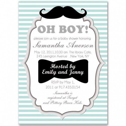 Oh boy baby shower invitations baby shower pinterest boy baby oh boy baby shower invitations filmwisefo