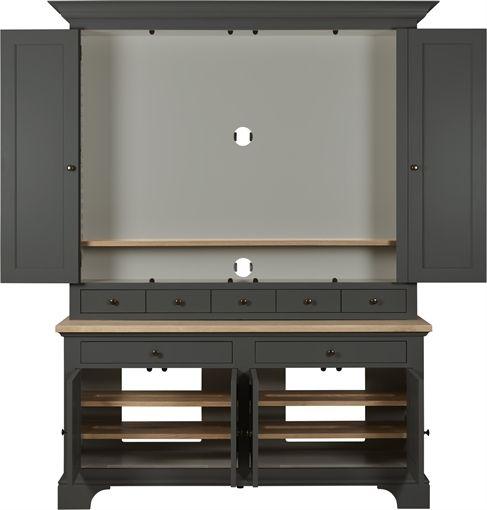 Neptune Henley 5ft TV Dresser | Living Room Furniture ...