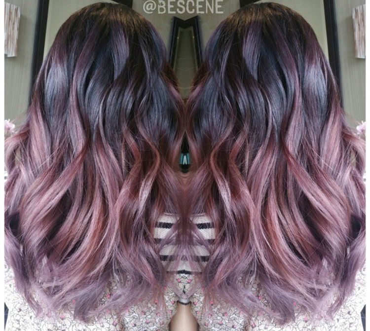 Image Result For Chocolate Rose Gold Hair