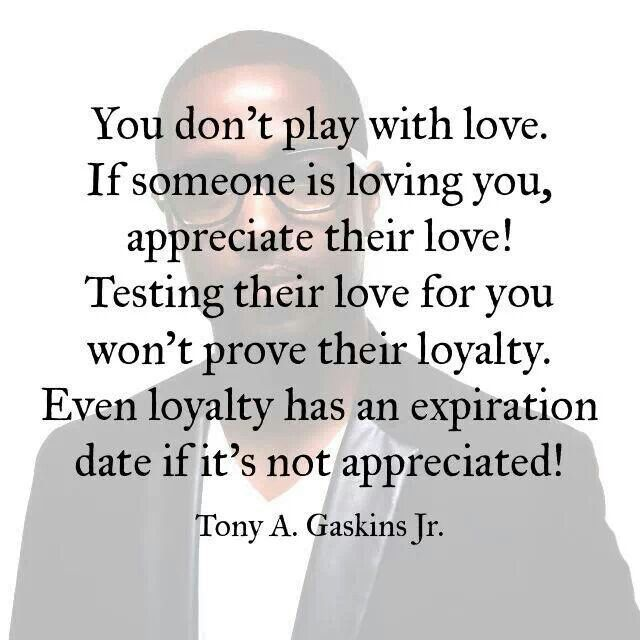 Loyalty has an expiration date !