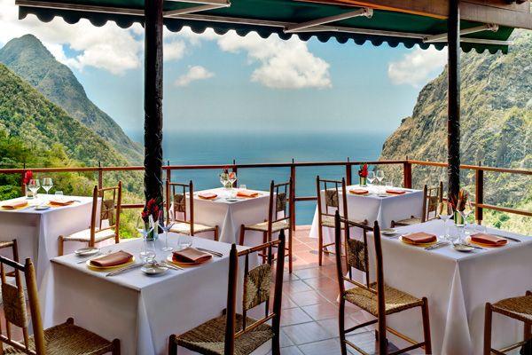 Dasheene, St Lucia, West Indies | 32 Restaurants With Spectacular Views