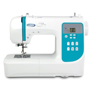 semco smart touch computerised sewing machine white spotlight site rh pinterest com