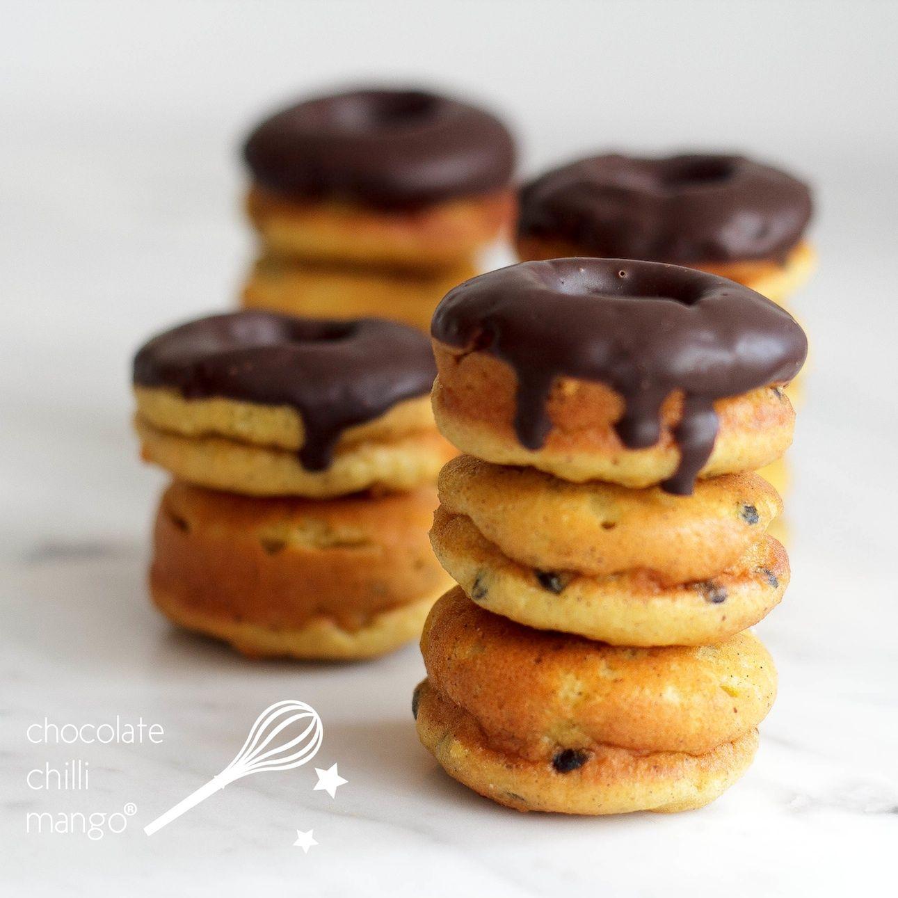Vanilla Passion Proughnuts #proteindonuts