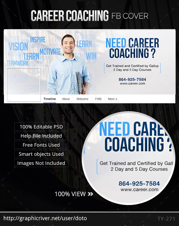 Career Coaching Facebook Cover Career Coach Facebook Cover Facebook Timeline Covers