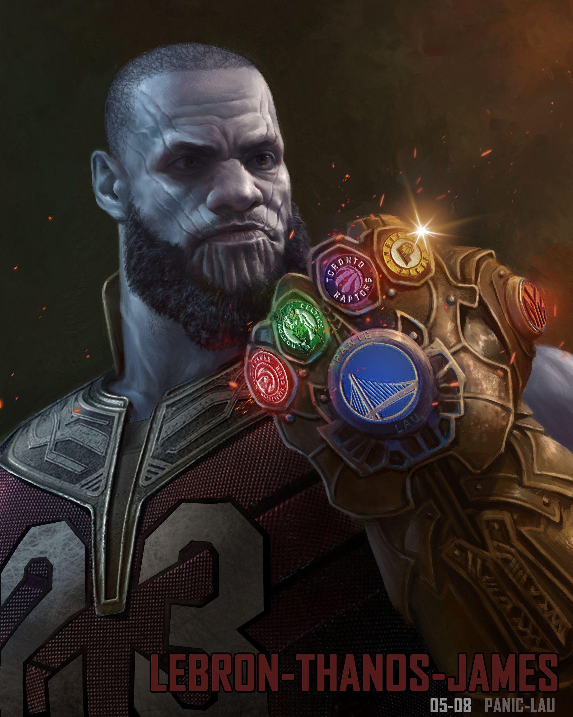 ArtStation - LeBron Thanos James, Panic
