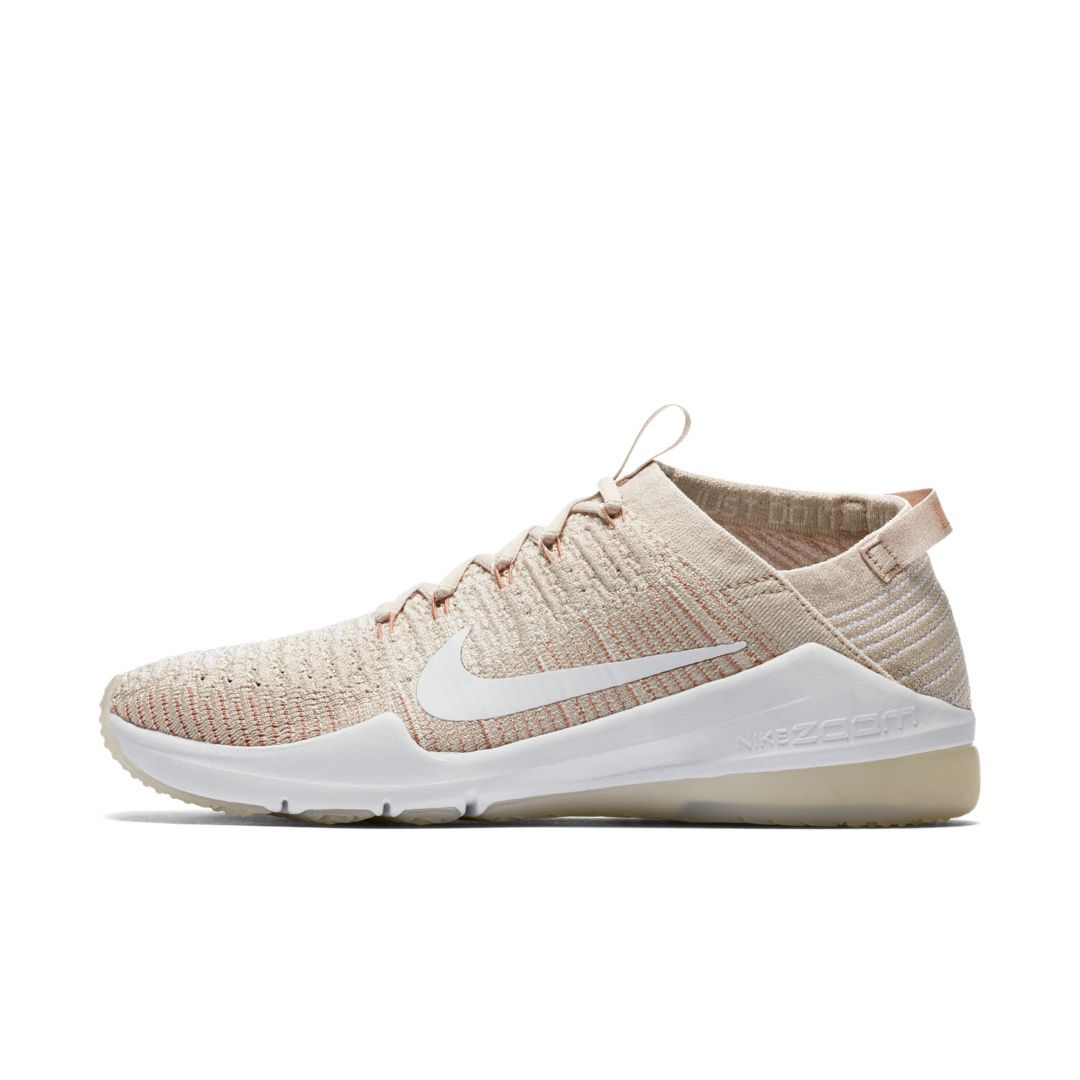 8072e7f06c43 Nike Air Zoom Fearless Flyknit 2 Women s Gym Training Boxing Shoe Size 11.5  (Particle Beige)