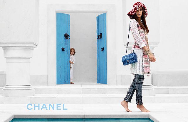 Chanel 2014/2015 Cruise Campaign.