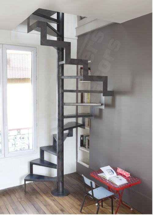 Photo DH72 - SPIR\u0027DÉCO® Caisson d\u0027Angle Escalier intérieur