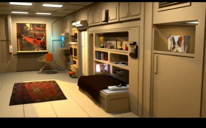 Korben Dallas Apartment Google Search Space Sci Fi