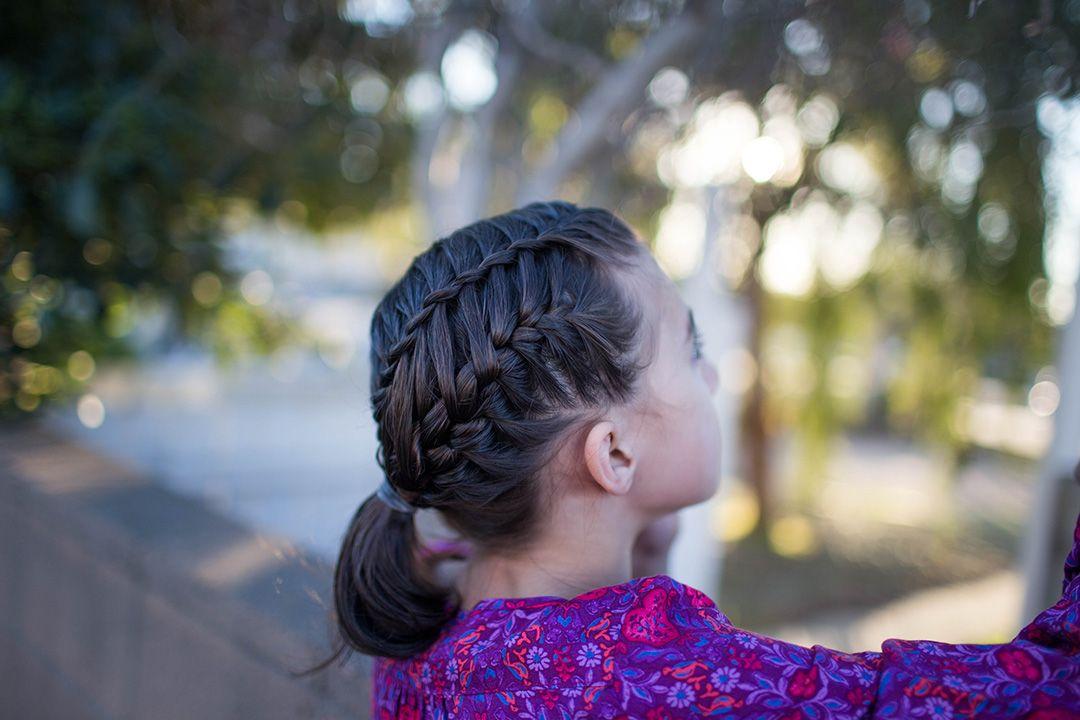 Gym Braid Combo | Cute Girls Hairstyles | Braid tutorial videos ...