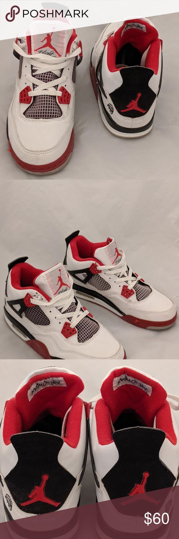 Nike Air Jordan 4 IV Fire Red Air