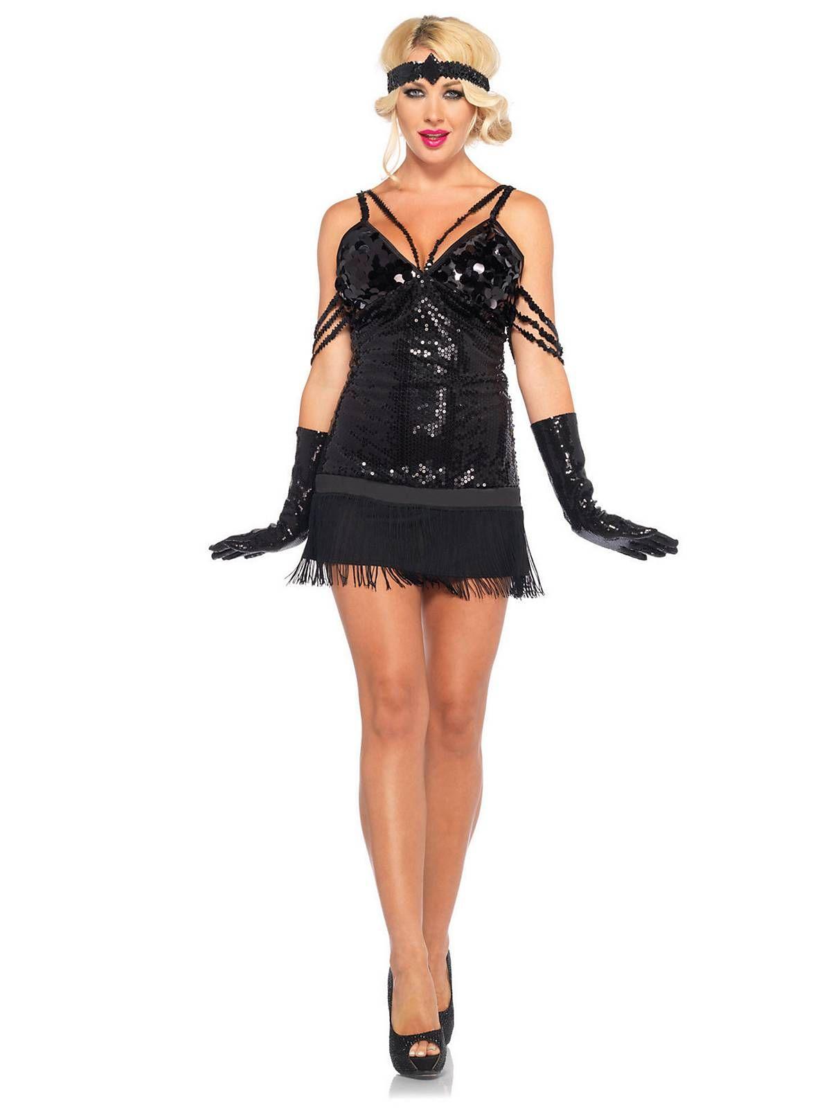 039b949a05 Sexy Glam Flapper Costume
