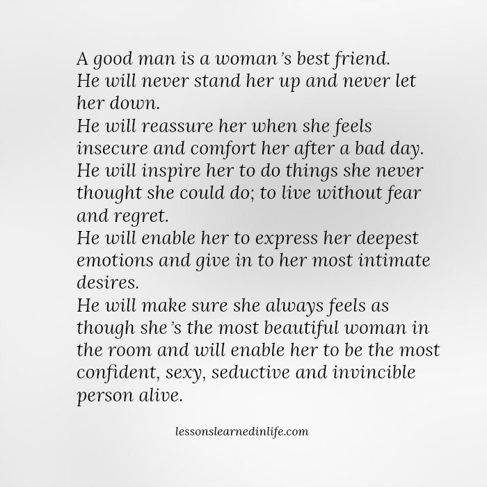 Where to meet a good man
