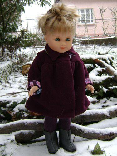 tuto veste et robe poupée 40 cm diy | DIY | Pinterest