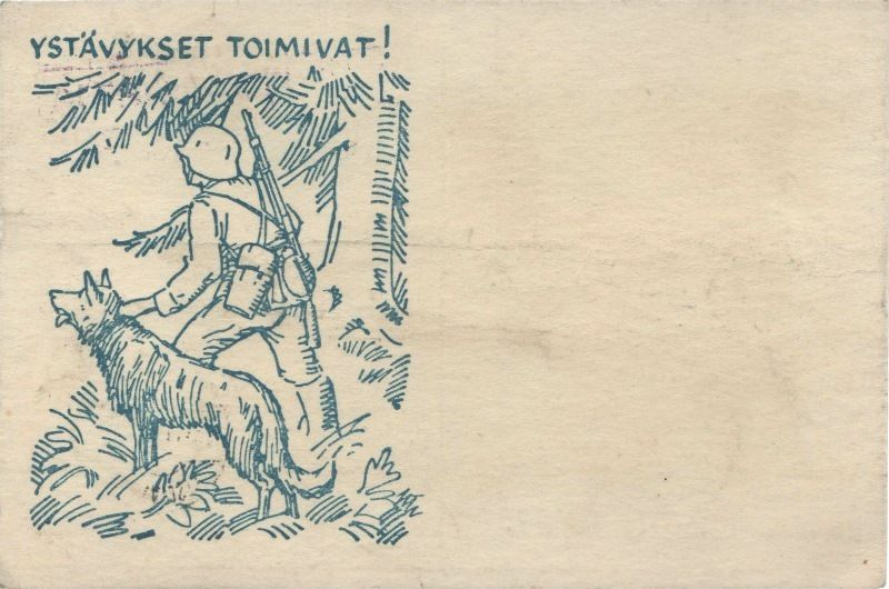 Kenttäpostikortti v. 1942