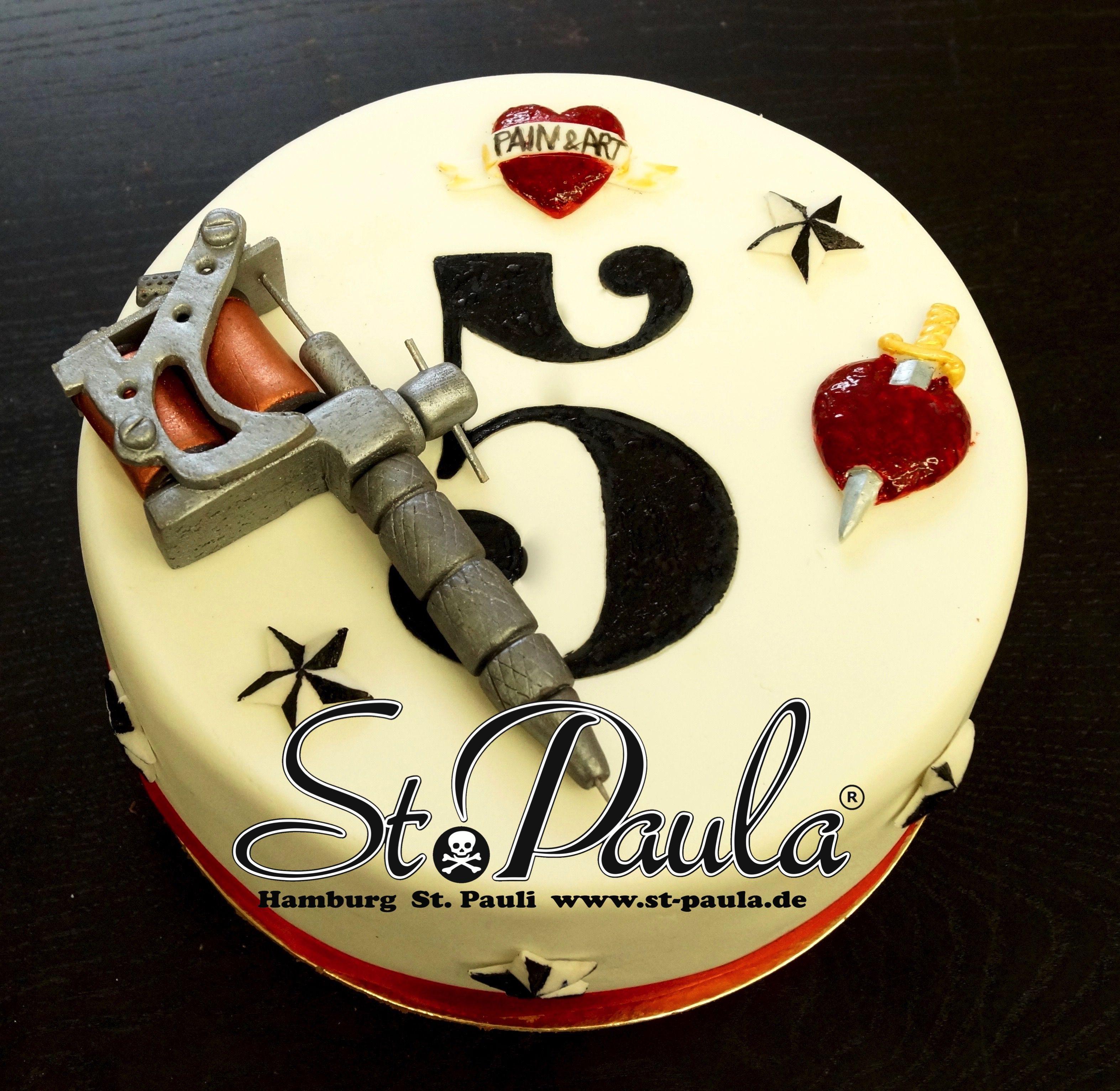 Torte Tattoo Maschine By Www St Paula De Hamburg Torte Kuchen