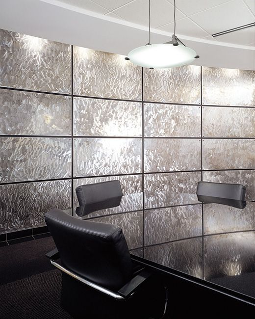 Curved Stainless Steel Wall Panels Wall Panels Beautiful Office