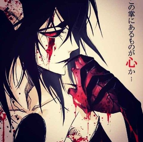 Ulquiorra Schiffer, don't know if I should find this creepy or cool but it definitely looks nice...I think.